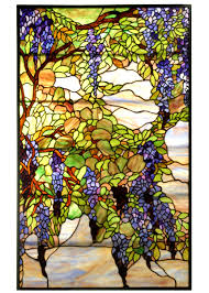 Louis Comfort Tiffany Stained Glass Meyda Tiffany 68442 Tiffany Wisteria U0026 Snowball Stained Glass