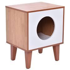 litter box end table litter box end table amazoncom tangkula cat cushion cleaning