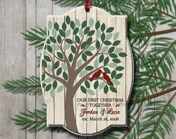 merry and married christmas ornament tree decoration
