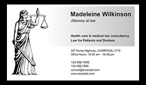 Lawyers Business Cards Best Business Cards Examples Made With Business Card Maker