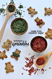 easy homemade sprinkles fork and beans
