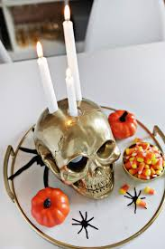 skull candle holder diy u2013 a beautiful mess