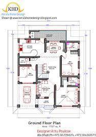 kerala floor plans architecture kerala three bedrooms in 1200 square feet kerala