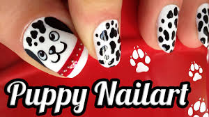 puppy nail designs image collections nail art designs