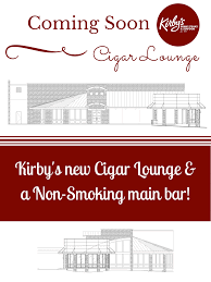 Smoking Room Ventilation Introducing Kirby U0027s New Non Smoking Main Bar U0026 Added Cigar Lounge