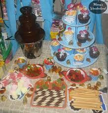 Minions Candy Buffet by My Twins U0027 Baptismal On A Budget Nheng U0027s Wonderland