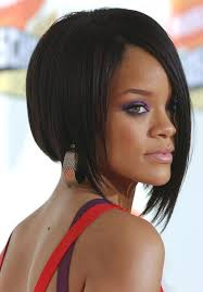 concave bob hairstyle pictures celebrity hairstyle ideas rihanna edgy sleek concave bob haircut
