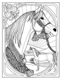 horse coloring selah works colouring animals