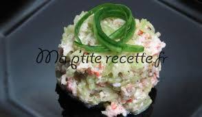 cuisiner concombre tartare de concombre aux crevettes recette entrée concombre et