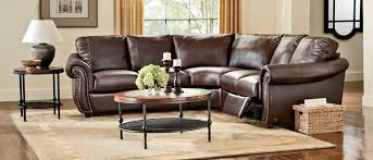softaly colorado reclining multi piece leather sectional