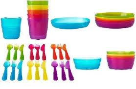 ikea kalas children s plastic plates bowls mugs cutlery