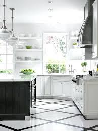 black and white kitchen floor ideas white kitchen floor khoado co