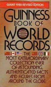 guinness book of world records 1988 by guinness world records