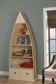 Bookcase With Drawers Tuscan Retreat Dinghy Boat 4 Shelves Bookcase With Drawers Gray