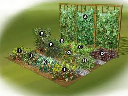 Backyard Garden Layout by Vegetable Garden Layout For Small Spaces What Will Grow