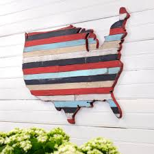 United States Map Wall Art by Usa Pallet Map Wooden Pallet Wall Art United State Large Map