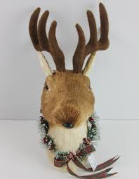 Christmas Reindeer Head Wall Decoration by Stag Head Stag Head Suppliers And Manufacturers At Alibaba Com