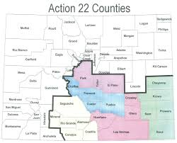Colorado County Map by About Action 22