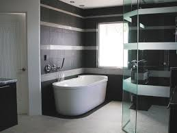 black and white bathroom tile black marble on top white lacquered