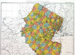 map of nj new jersey historical maps