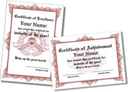 borderless certificate templates free printable formal certificate templates landscape and portrait