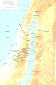 Map Of Syria And Israel by Kingdoms Of Judah And Israel Map U2022 Mapsof Net
