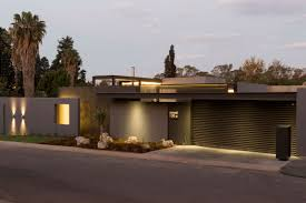 modern house garage single story modern house design house sar by nico van der meulen