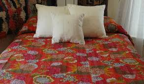 Rugs From Morocco Embroidered Pillows From Pakistan Coverlet From Indian