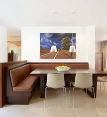 dining amazing modern piece dining set restaurant booth trends