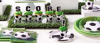 soccer party ideas soccer party supplies for kids birthday party themes at mtrade