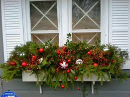 Ideas For Window Decorations At Christmas by Windows Box Windows Decorating Decorations Christmas Window Box