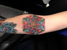 getting my geometric flower
