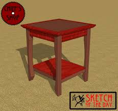mission style end table woodworking plans u2013 drunk00jzt