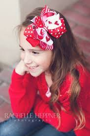 girl hair bows pink bowtique pinkbowtique valentines hair bows baby