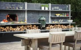 outdoor küche die ausgestattete outdoor küche für genussvolles kochen im garten