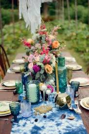 Party Tables Linens - 26 gorgeous tablescapes to inspire your end of summer party