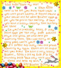 easter bunny letter free printable easter bunny letters photo