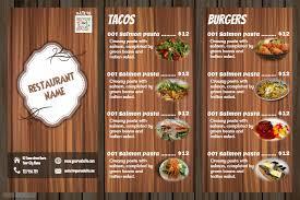 restaurant menu cmyk restaurant menu template top 23 free psd