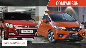 honda car comparison 2015 honda jazz vs hyundai elite i20 diesel comparison