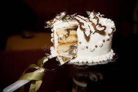Butterfly Wedding Cake Stock Images Image 14616374