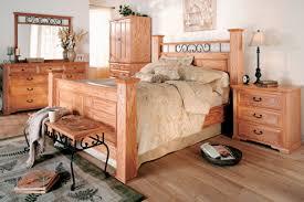 White Oak Bedroom Furniture Thornwood King Oak Bed