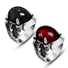 black stone rings images Cheap mens ring black stone find mens ring black stone deals on jpg