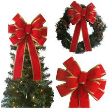 velvet christmas velvet christmas wreath bow chic design