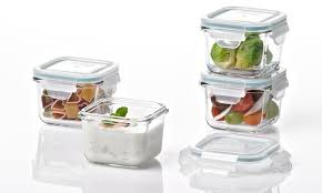 Food Storage Container Sets - glasslock food storage container sets groupon