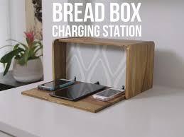 Charging Station Shelf Diy Breadbox Charging Station Video Hgtv