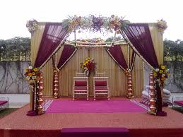 wedding stage decoration wedding outdoor stage decoration with white flowers concept