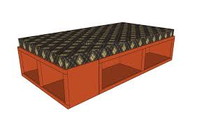 Floating Bed Construction by Floating Bed Frame Plans Myoutdoorplans Free Woodworking Plans