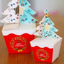 christmas boxes merry christmas tree gift box cookie cholocate food paper boxes