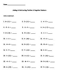 adding and subtracting rational numbers worksheets refining knowledge of review of rational numbers lessons tes teach