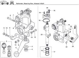 defender steering box adwest 4 bold rovers north classic